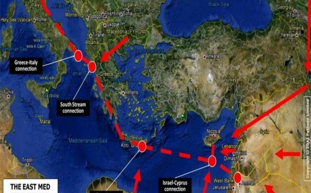 Γιατί η Ελλάδα επαναφέρει στο προσκήνιο τον αγωγό East Med και την ηλεκτρική διασύνδεση Euroasia
