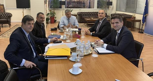 Συνάντηση εργασίας του Περιφερειάρχη Αττικής, Γ. Πατούλη, με την ηγεσία της ΕΥΔΑΠ ΑΕ