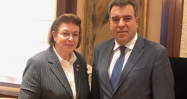 Συνάντηση του Υφυπουργού Τουρισμού κ. Κόνσολα με την Υπουργό Πολιτισμού κ. Μενδώνη