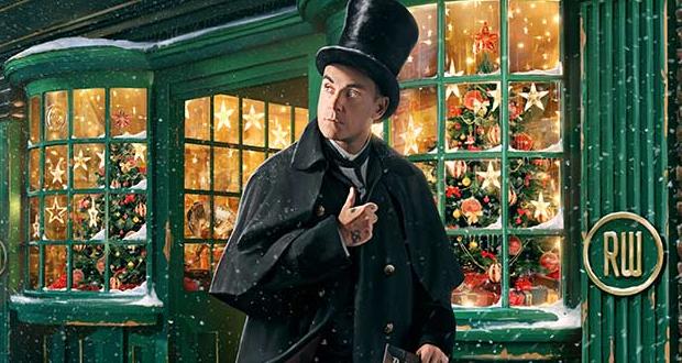 O Robbie Williams και το THE CHRISTMAS PRESENT στην κορυφή των charts! Ακούστε το…
