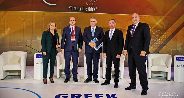 Ομιλία Διευθύνοντος Συμβούλου ΕΛΠΕ κ. Ανδρέα Σιάμισιη στο Συνέδριο του Ελληνο-Αμερικανικού Επιμελητηρίου