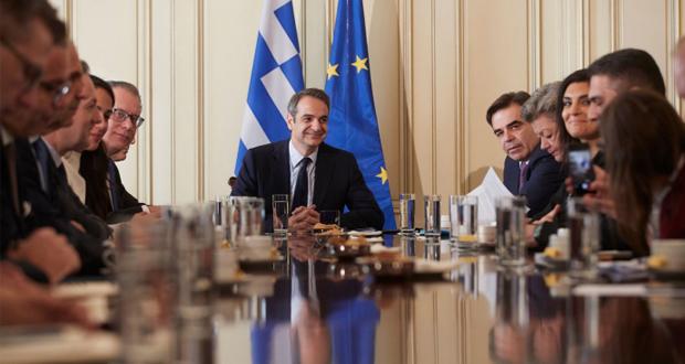 Κυρ. Μητσοτάκης: Στηριζόμαστε στην ευρωπαϊκή αλληλεγγύη