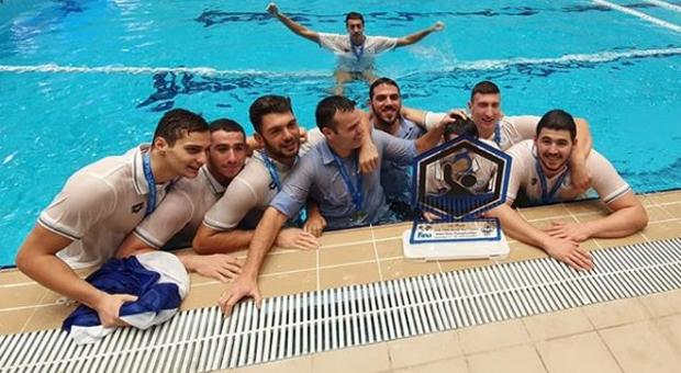 Η Εθνική Νέων Ανδρών στο ΠΑΝΘΕΟΝ της υδατοσφαίρισης