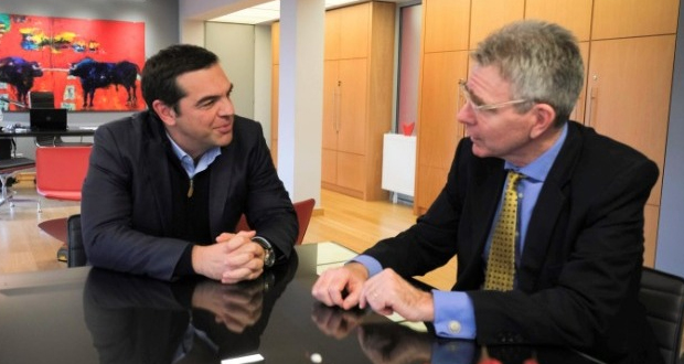 Συνάντηση Αλ. Τσίπρας με τον Πρέσβη των ΗΠΑ, Τζέφρι Πάιατ
