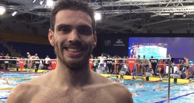 «Χρυσός» στα 200μ Μικτής Ατομικής ο Ανδρέας Βαζαίος με Ευρωπαϊκό ρεκόρ!