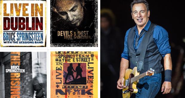 O Bruce Springsteen επανακυκλοφορεί 5 από τα πιο σημαντικά του albums σε βινύλιο!
