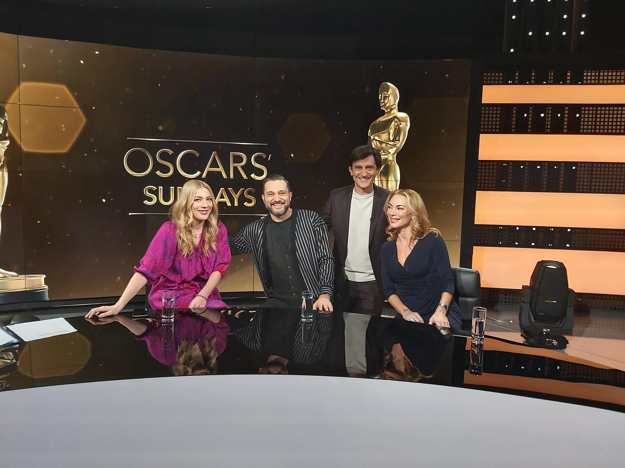 "COSMOTE TV: Ακόμα ένα ""OSCARS' Sundays"" με τον Θ. Κουτσογιαννόπουλο και νέες σεζόν για Project Blue Book και The Bold Type"
