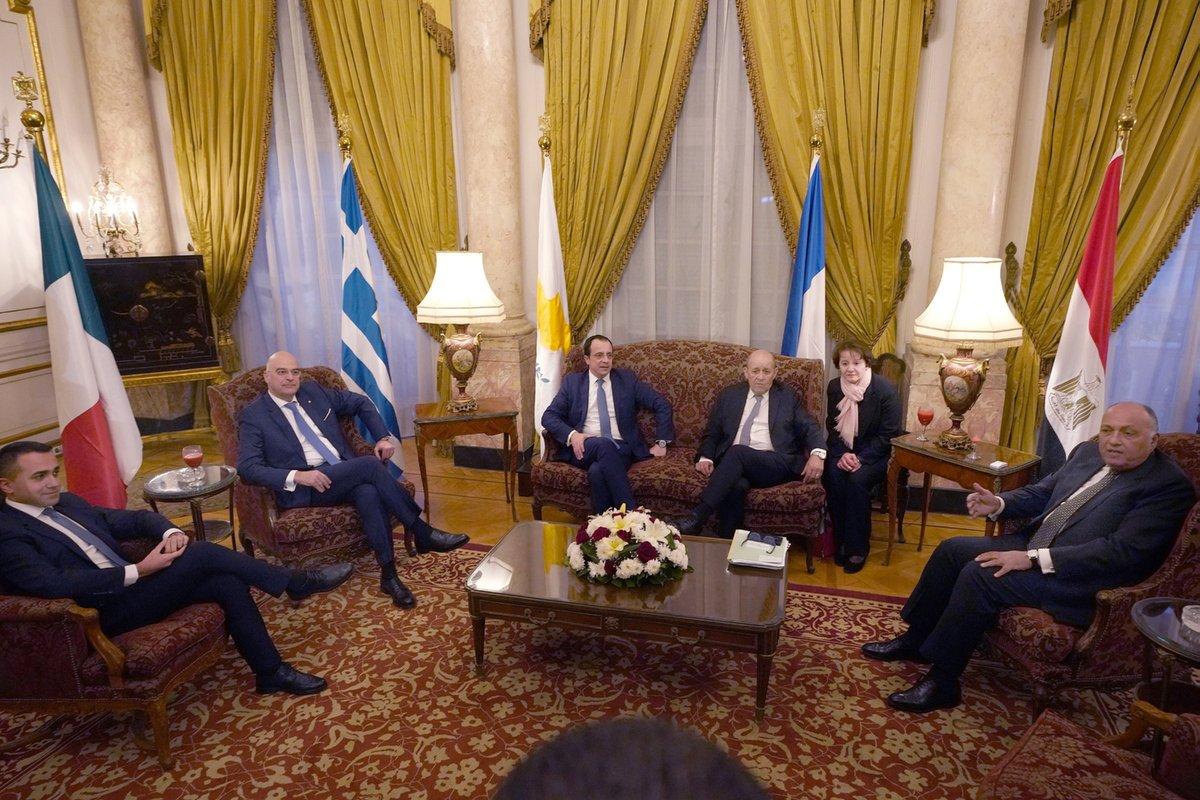 Τετραμερή – Κάιρο: Άκυρες οι συμφωνίες Τουρκίας με Λιβύης