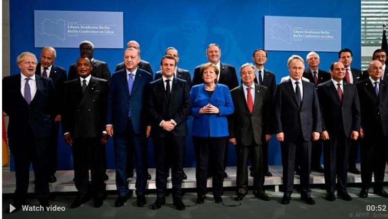 Βερολίνο: Ολοκληρώθηκε η διάσκεψη για τη Λιβύη-Μέρκελ: Διπλωματική και όχι στρατιωτική λύση
