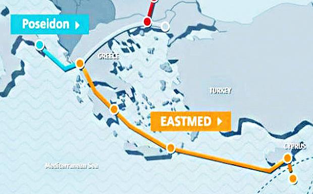 Το «ΠΑΡΟΝ» αποκαλύπτει γιατί ο EastMed έχει τεράστια στρατηγική σημασία για την Ελλάδα και την Κύπρο