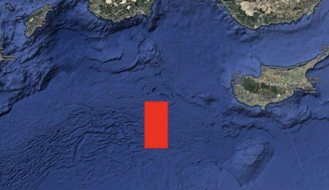 Η Τουρκία ξεκινά σεισμικές έρευνες στα όρια της ΑΟΖΚύπρου,Αιγύπτουκαι Ελλάδας