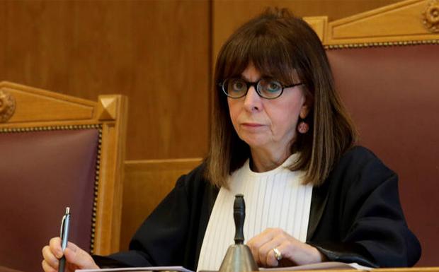 Νέα Πρόεδρος της Δημοκρατίας με 261 ψήφους η Αικατερίνη Σακελλαροπούλου
