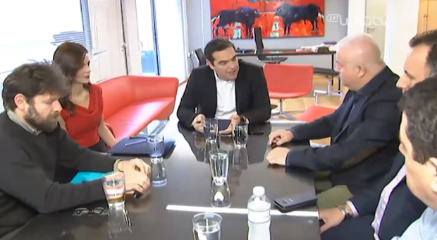 Συνάντηση, στα γραφεία του ΣΥΡΙΖΑ, της Ομοσπονδίας Εργαζομένων στον ΟΤΕ