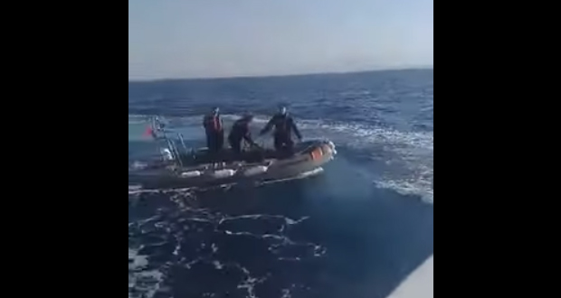Τούρκοι λιμενικοί παρενόχλησαν Έλληνες ψαράδες: «Εδώ είναι Ελλάδα», φώναζαν οι Καλύμνιοι (video-Εμπεριέχονται ακατάλληλες φράσεις)