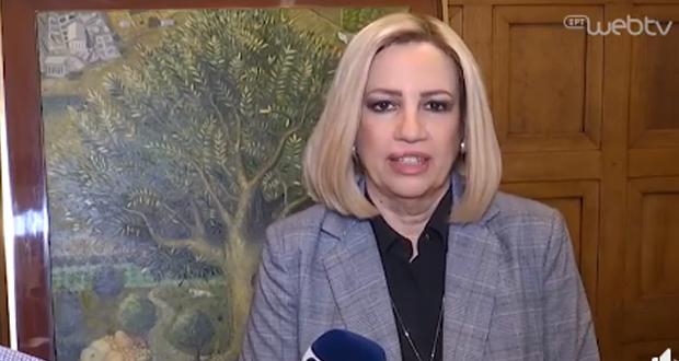 Φ. Γεννηματά: Η Κυβέρνηση έχει χάσει τον έλεγχο, χάνει χρόνο και παραπέμπει συνεχώς για «αύριο»