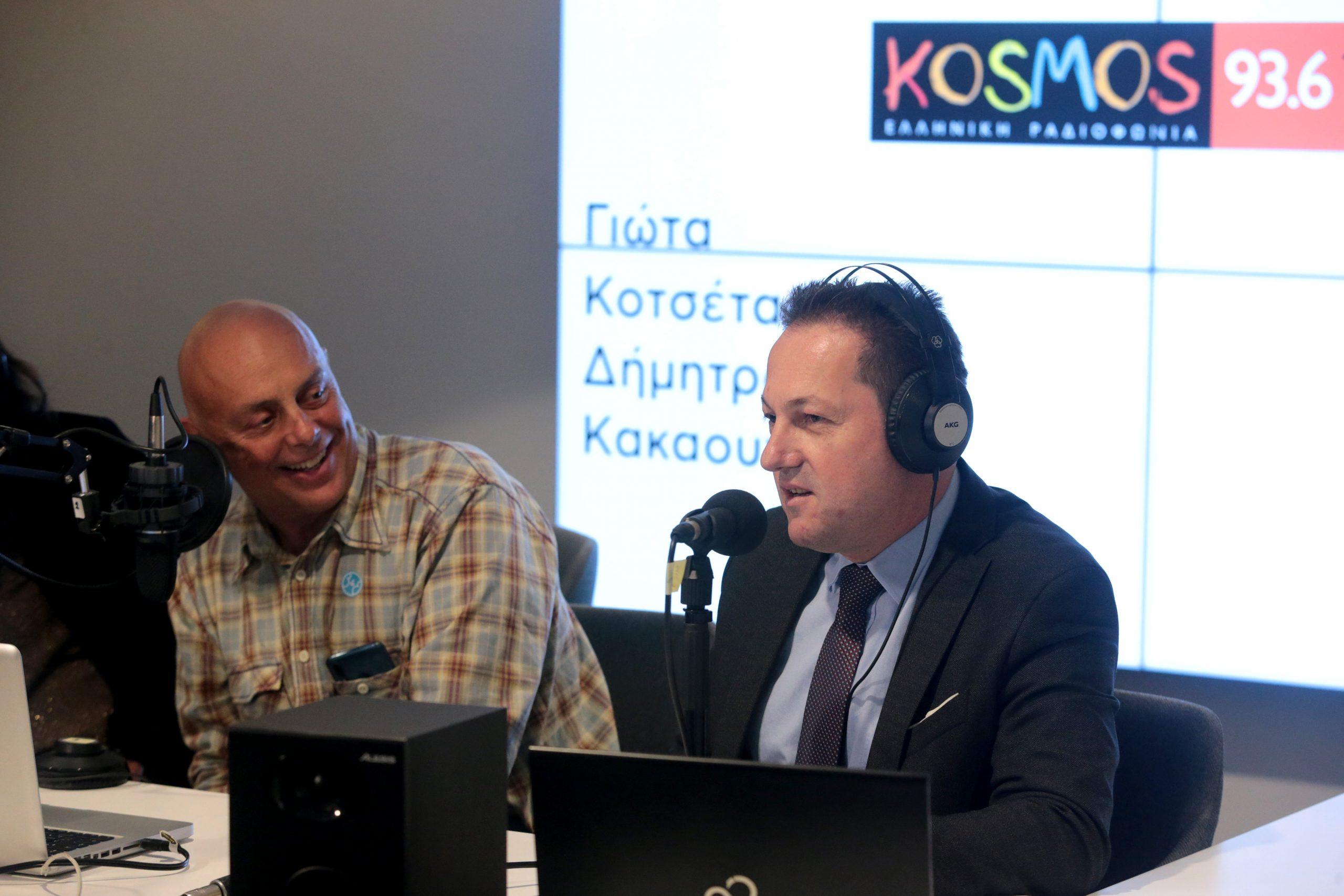 Σ. Πέτσας: «Μεγάλωσα με το ραδιόφωνο και τον Γιάννη Πετρίδη»