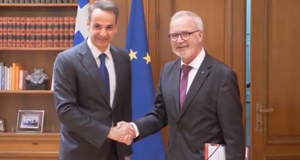 Μητσοτάκης: Έχουμε φιλόδοξα σχέδια για το 2020 – Προσβλέπουμε στη στήριξη της Ευρωπαϊκής Τράπεζας Επενδύσεων