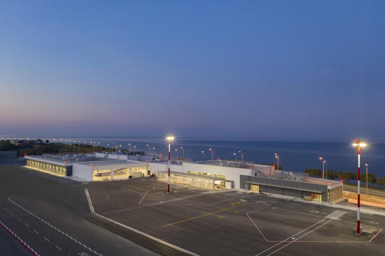 Ξεκίνησε το νέο αεροδρομίο Μυτιλήνης «Οδυσσέας Ελύτης»!