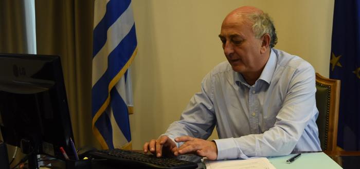 """Γ. Αμανατίδης: «Η παγκόσμια συνεργασία και αλληλεγγύη καθοριστική για την """"επόμενη μέρα""""» (video)"""