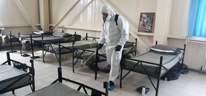 Κορονοϊός: Ο Στρατός παράγει μάσκες για τα νοσοκομεία (ΦΩΤΟ)