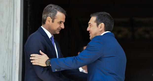Ο Μητσοτάκης ενημερώνει αύριο τον Τσίπρα για την εξέλιξη της πανδημίας του κορoνοϊού – Συναντήσεις και με τους άλλους πολιτικούς αρχηγούς