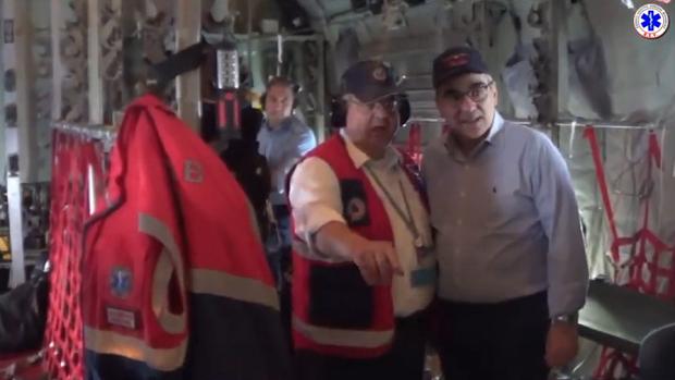 ΕΚΑΒ: Πραγματοποίηση έκτακτης Αεροδιακομιδής με την παρουσία του Υφυπουργού Υγείας κ. Βασίλη Κοντοζαμάνη