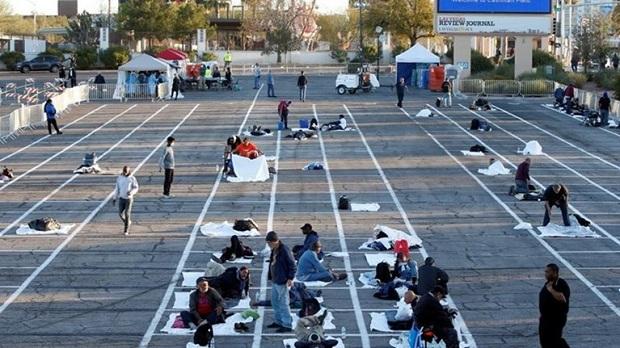 Λας Βέγκας: Για τους άστεγους που θα νοσήσουν θα πάρουν μέτρα, οι υπόλοιποι στον δρόμο…
