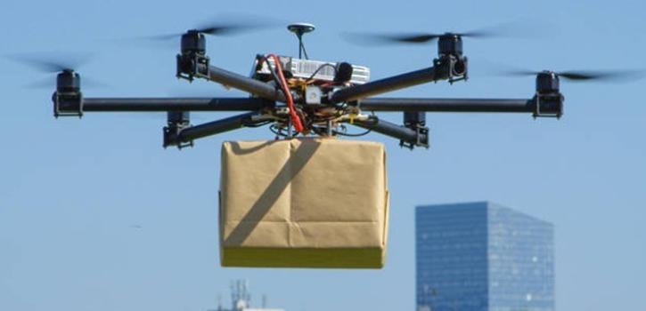 Παράδοση τροφίμων και φαρμάκων με drone σε ευπαθείς ομάδες από τον κεντρικό δήμο Θεσ/νικης