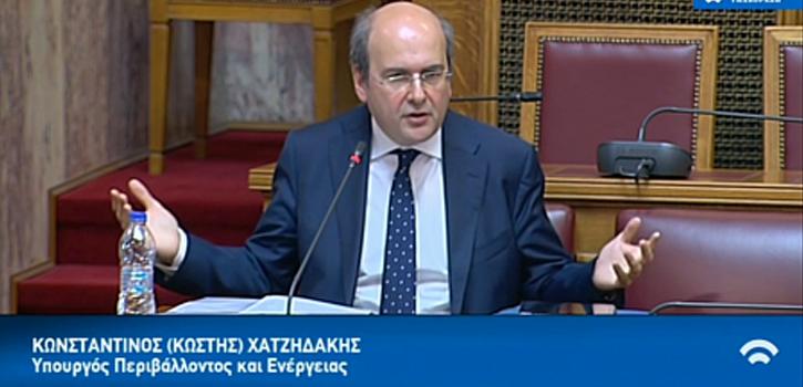Κ. Χατζηδάκης: Ο East Med δεν είναι μια έκθεση ιδεών