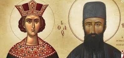 5 Μαίου: Αγία Ειρήνη και Άγιος Εφραίμ – Βιογραφία – Θεία Λειτουργία (Live streaming)