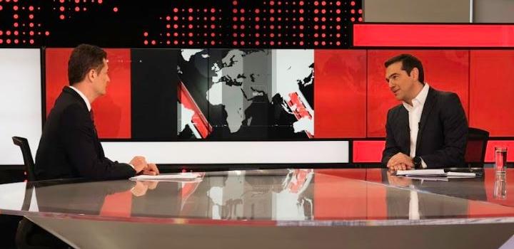 ALPHA: Ο Πρόεδρος του ΣΥΡΙΖΑ Αλέξης Τσίπρας, απόψε, στις 19:00, στο κεντρικό δελτίο ειδήσεων