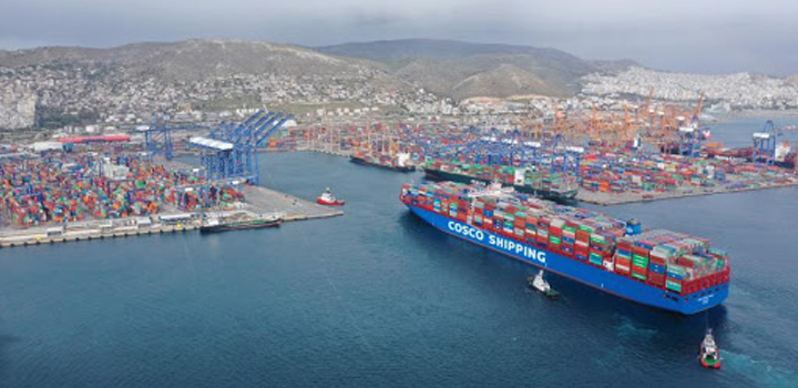 Handelsblatt – Το success story του Πειραιά: «Είναι το κεφάλι του Δράκου στην Ευρώπη – Νο1 λιμάνι στη Μεσόγειο»