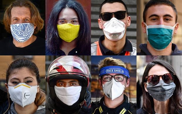Μόδα η μάσκα!