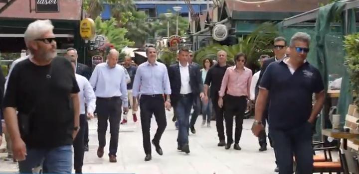 Κ. Μητσοτάκης: Στον Πειραιά για την πρώτη μέρα της εστίασης (video)