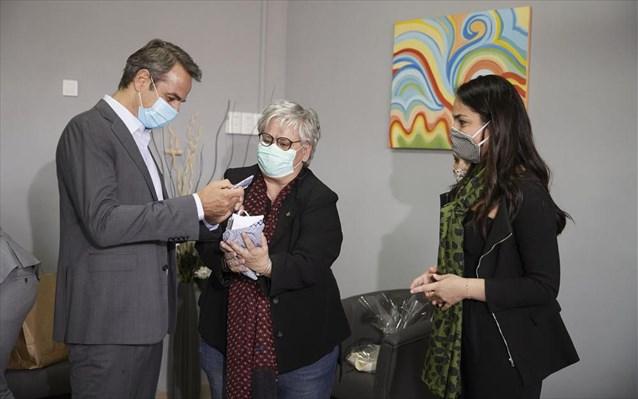 Κυρ. Μητσοτάκης: Επίσκεψη στο Θεραπευτήριο «Ο Άγ. Παντελεήμων» και στη BETA CAE Systems