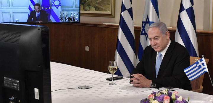 Ηχηρό μήνυμα του Νετανιάχου στον Ερντογάν: Συζήτησα με τον Μητσοτάκη τον EastMed από το Ισραήλ στην Ευρώπη…