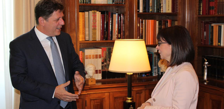 Μ. Βαρβιτσιώτης: Προσβλέπουμε στη συμβολή της ΠτΔ για μία επιτυχημένη Ελληνική Προεδρία του Συμβουλίου της Ευρώπης