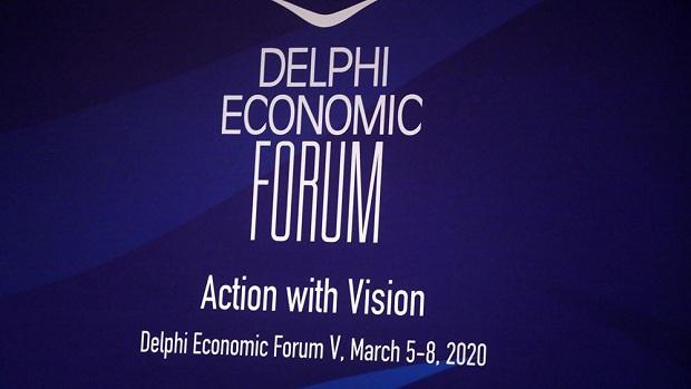 Παρέμβαση του CEO της Alpha Bank Βασίλειου Ψάλτη στο 5ο Delphi Forum