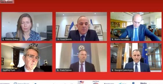 Κωστής Χατζηδάκης: «Έχουμεμια αποφασιστική στάση απέναντι στην Τουρκία.Ο Έβρος και οEastMedείναι απτά παραδείγματα»