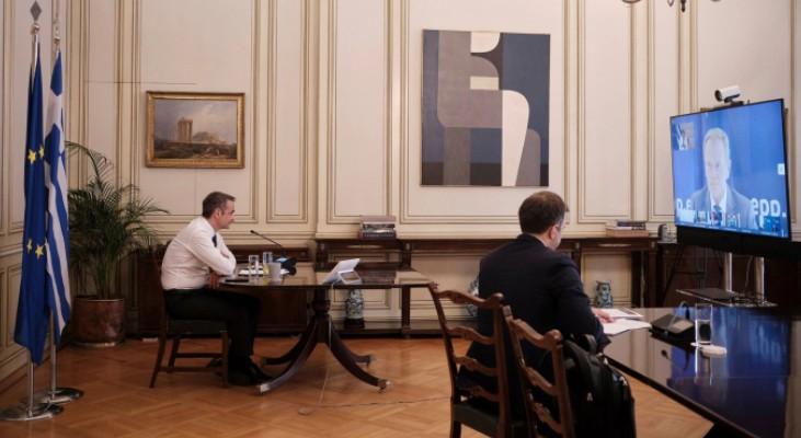 O Κυρ. Μητσοτάκης ζητά από την ΕΕ δυναμική αντίδραση προς την Τουρκία, όχι μόνο δηλώσεις