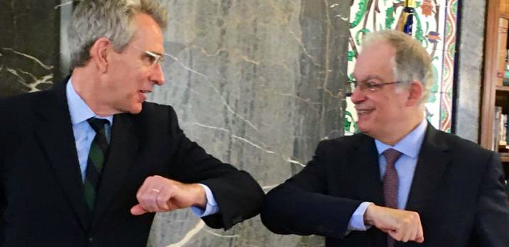 Συνάντηση G. Pyatt και Κ. Τασούλα στη Βουλή – Τι ειπώθηκε
