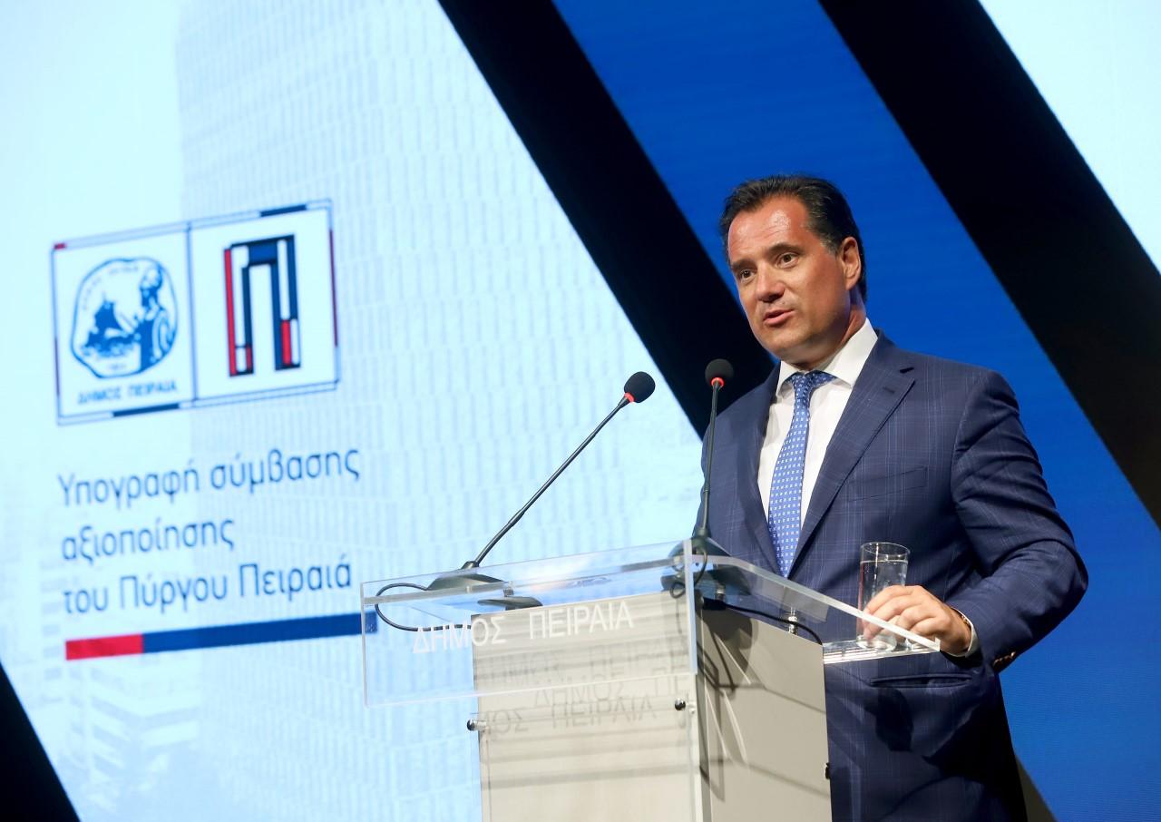 Τι είπε ο Αδ. Γεωργιάδης για την υπογραφή της σύμβασης αξιοποίησης του Πύργου Πειραιά