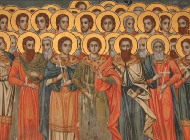 Άγιοι Σαράντα Πέντε Μάρτυρες, 10 Ιουλίου – Τι γιορτάζουμε – Ζωντανά Όρθρος & Θεία Λειτουργία