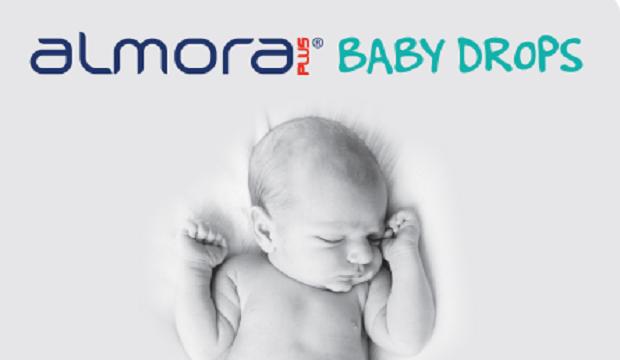 Tο almora PLUS® BABY DROPS φροντίζει για τα «καλά» μικρόβια σε βρέφη και παιδιά