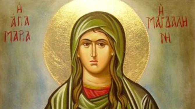 Ζωντανά: Αγία Μαρία η Μαγδαληνή η Μυροφόρος και Ισαπόστολος – Θεία Λειτουργία – Βιογραφία