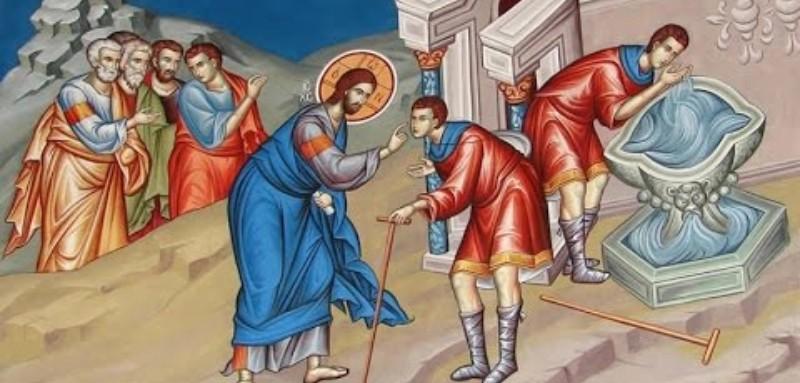 Ζωντανά η Θεία Λειτουργία, Κυριακή Ζ' Ματθαίου (Παρασκευής Οσιομάρτυρος) – live streaming