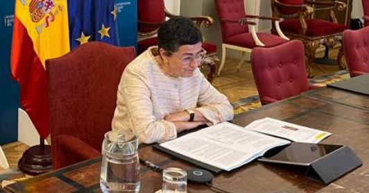 Κυρ. Μητσοτάκης και Ν. Δένδιας συναντούν την ΥΠΕΞ της Ισπανίας