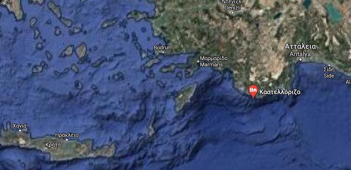Η Τουρκία ορέγεται μια Νέα Ίμβρο στο Καστελόριζο,ενώ η Ελλάδα όφειλε να το μεγεθύνει κατά 12 μίλια