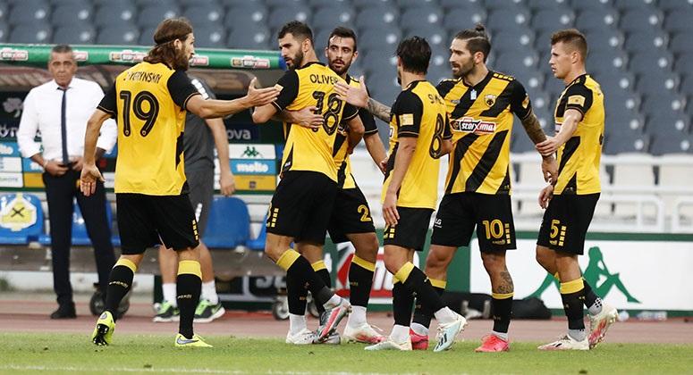 AEK: Φουλ επίθεση για το σεντόνι – Νίκησε με 3-1 τον Παναθηναϊκό