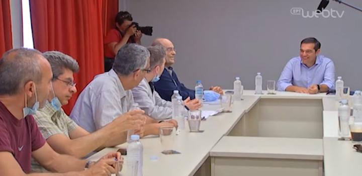 Αλ. Τσίπρας με το προεδρείο της ΟΙΕΛΕ: Νομοσχέδιο καθ' υπόδειξη των σχολαρχών που πάει πάρα πολύ πίσω τη δημόσια εκπαίδευση – βίντεο